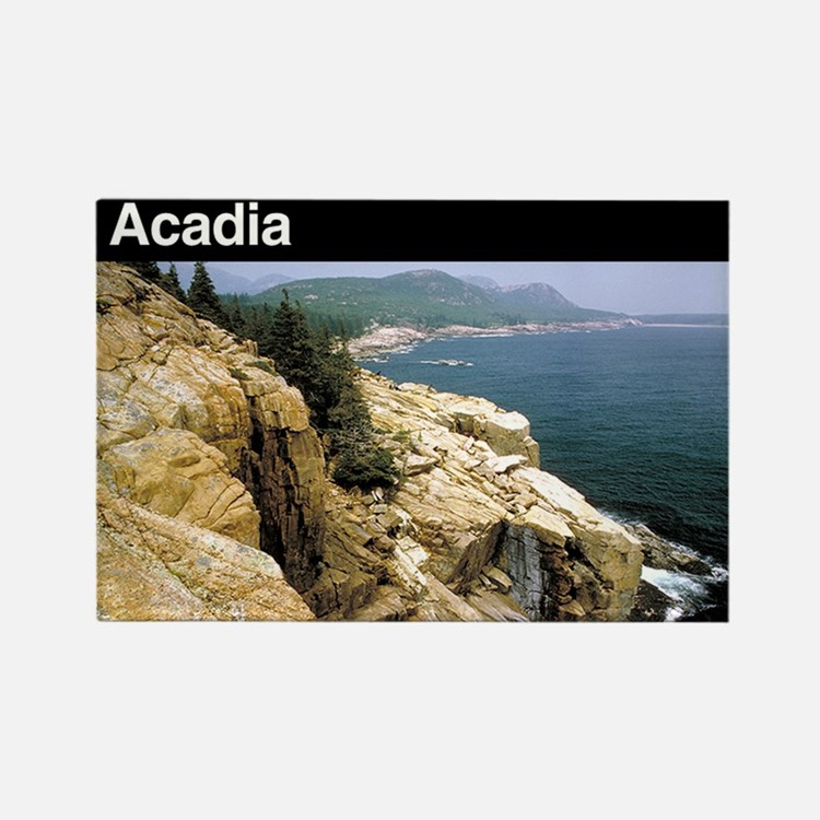 Acadia National Park Rectangle Magnet