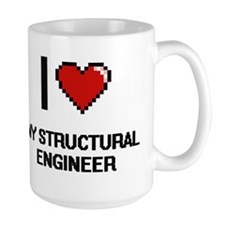 I love My Structural Engineer Mugs