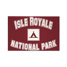 Isle Royale National Park Rectangle Magnet