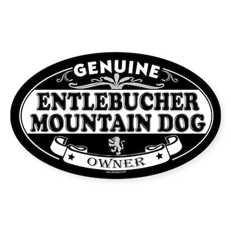 ENTLEBUCHER MOUNTAIN DOG Oval Sticker