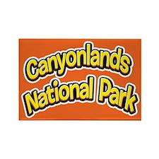 Canyonlands National Park (Cartoon) Rectangle Magn
