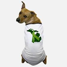 Turn Michigan Green Dog T-Shirt