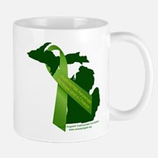 Turn Michigan Green Mugs