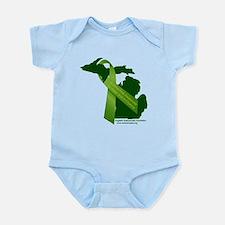 Turn Michigan Green Body Suit