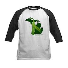 Turn Michigan Green Baseball Jersey
