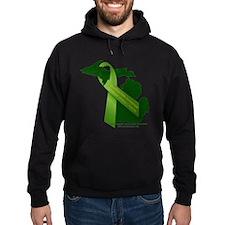 Turn Michigan Green Hoodie