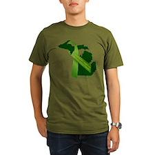 Turn Michigan Green T-Shirt
