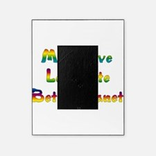More Love Less Hate Picture Frame