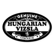 HUNGARIAN VIZSLA Oval Decal