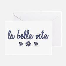 La Bella Vita Greeting Cards (Pk of 20)