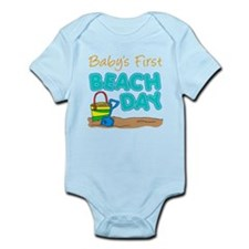 Baby's First Beach Day Body Suit