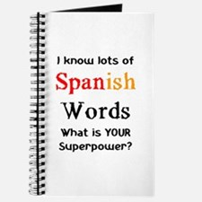 spanish words Journal