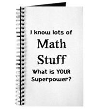 math stuff Journal