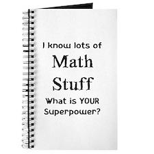 math stuff Journal