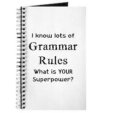 grammar rules Journal