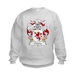 Ozores Family Crest Kids Sweatshirt