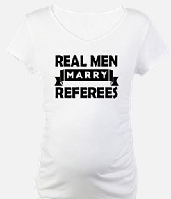 Real Men Marry Referees Shirt