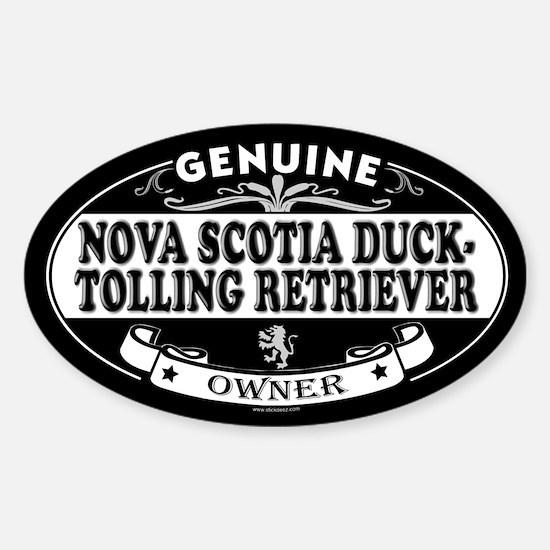 NOVA SCOTIA DUCK-TOLLING RETRIEVER Oval Decal