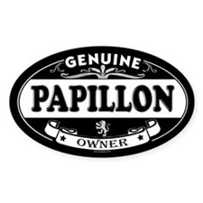 PAPILLON Oval Decal