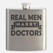 Real Men Marry Doctors Flask