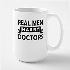 Real Men Marry Doctors Mugs