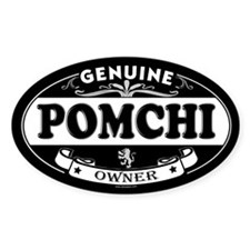 POMCHI Oval Decal
