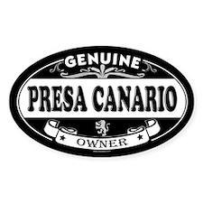 PRESA CANARIO Oval Decal
