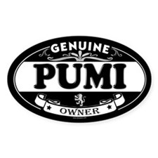 PUMI Oval Decal
