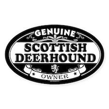 SCOTTISH DEERHOUND Oval Stickers