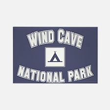 Wind Cave National Park Rectangle Magnet