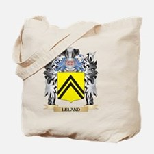 Leland Coat of Arms - Family Crest Tote Bag