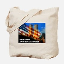 9-11 NEVER FORGET  Tote Bag