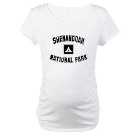 Shenandoah National Park Maternity T-Shirt