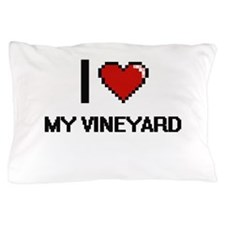I love My Vineyard Pillow Case