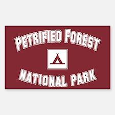 Petrified Forest National Park Sticker (Rectangula