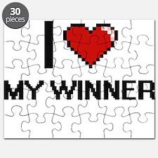 I love My Winner Puzzle