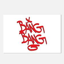 Bang Bang Postcards (Package of 8)