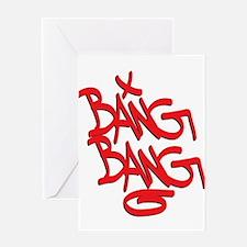Bang Bang Greeting Cards