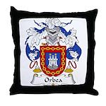 Orbea Family Crest  Throw Pillow