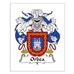 Orbea Family Crest  Small Poster