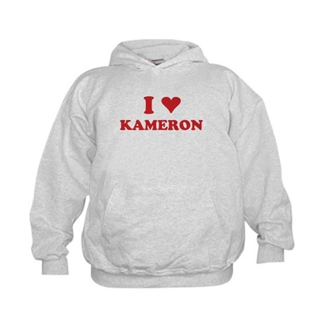 I LOVE KAMERON Kids Hoodie