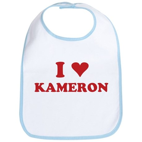 I LOVE KAMERON Bib