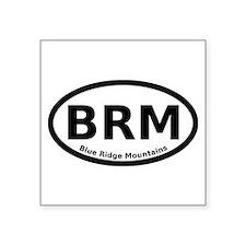 "Cute Blue ridge mountains%2c piscah Square Sticker 3"" x 3"""