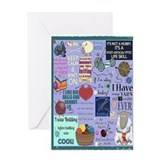Knitting Greeting Cards