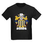 Ontiveros Family Crest Kids Dark T-Shirt