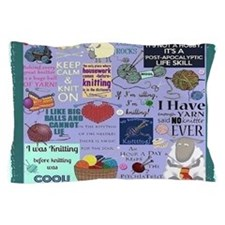 Knitters Pillow Case
