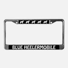 Aussie Cattle Dog (Blue Heeler) LicensePlate Frame