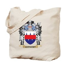 Leonhart Coat of Arms - Family Crest Tote Bag