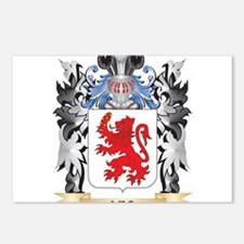 Leo Coat of Arms - Family Postcards (Package of 8)