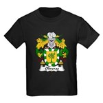 Oliveras Family Crest Kids Dark T-Shirt